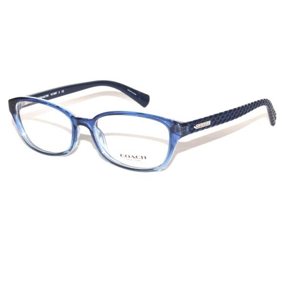 d233bfeab6 Coach Eyeglasses HC 6067 Z 5290 Blue Gradient 52.1
